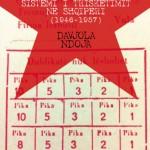 Sistemi i trisketimit ne Shqiperi 1946-1057 Davjola Ndoja