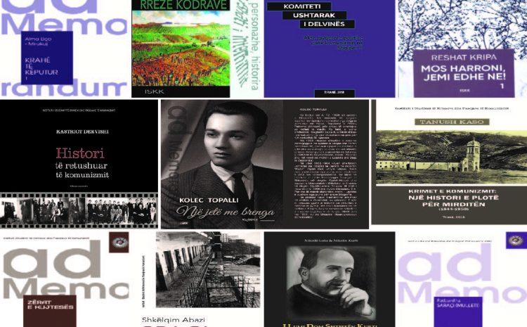 """Prezantohen 12 botimet e reja të ISKK; spikasin memuaret dhe dëshmitë """"Fytyra e 'armikut të popullit' gjatë diktaturës së proletariatit  në Shqipëri (1944-1990)"""""""