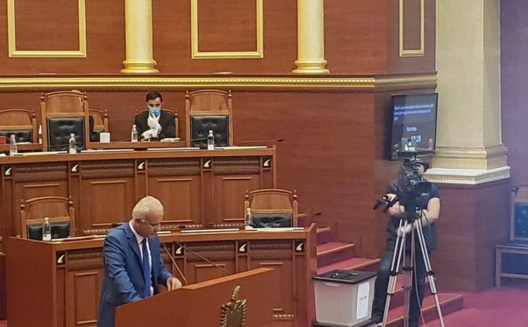 Kuvendi i Shqipërisë miratoi sot në seancën plenare raportin vjetor të ISKK.