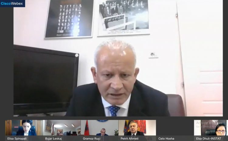 Drejtori i ISKK, Çelo Hoxha, mori pjesë në takimin periodik të Mekanizmit Institucional Kuvend-Qeveri-Institucione të Pavarura, të zhvilluar sot nga kryetari i Kuvendit të Shqipërisë, z. Gramoz Ruçi.