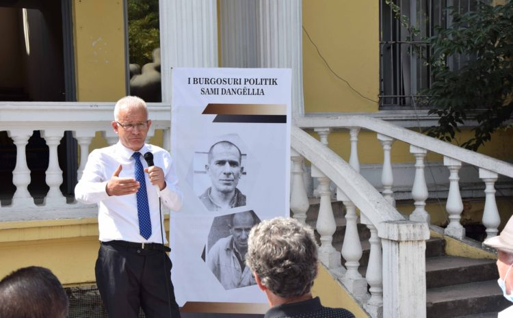 Sami Dangëllia, i cili vuajti 43 vjet burg politik gjate regjimit komunist…
